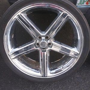 26 inch rims & tires